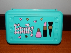 Makeup Pencil Box
