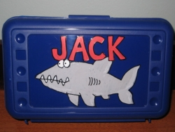 Shark Pencil Box