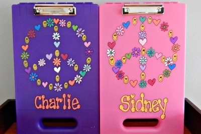 Large Peace Sign Clipboard Case