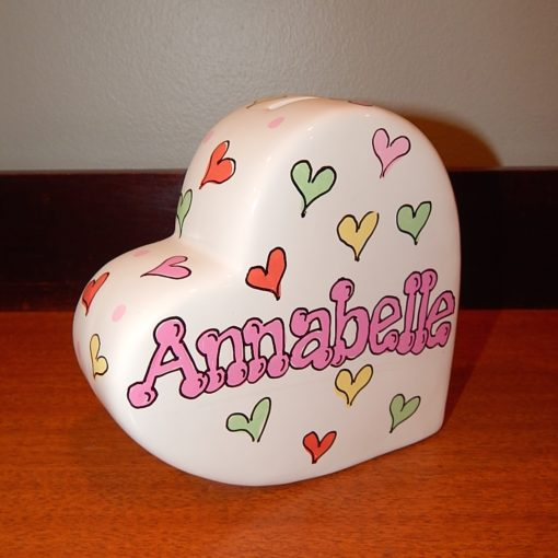 Hearts Design on Heart Bank