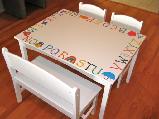 Toddler Table w/ Chairs