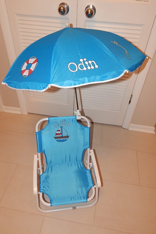 Sailing Beach Umbrella Chair