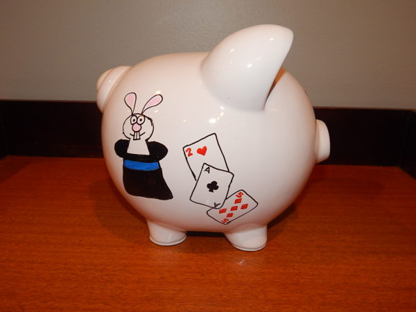 Magician Piggy Bank