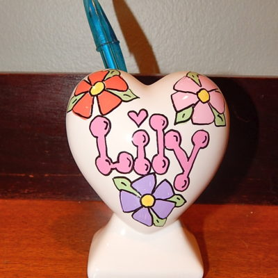 Flower Pencil Holder