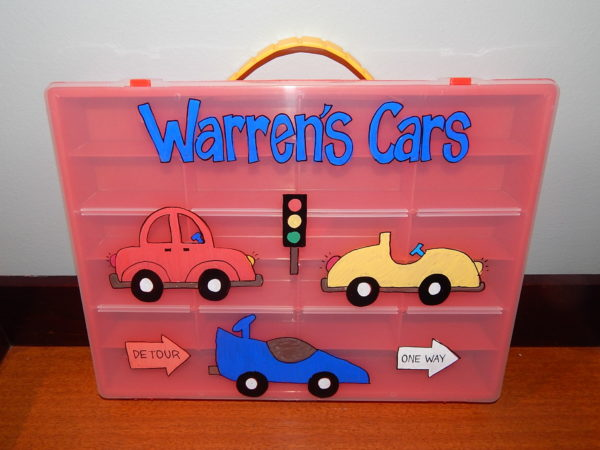 Matchbox Car Case