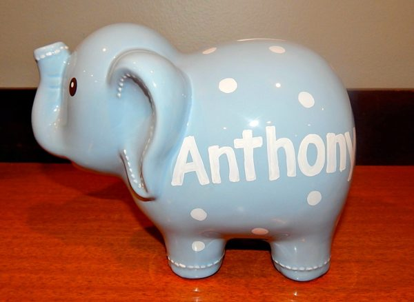 Personalized Elephant Bank